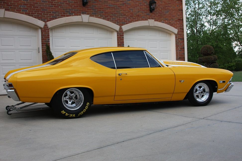 pro street cars 320hp twin supercharged 68 chevelle is a driver streetlegaltv