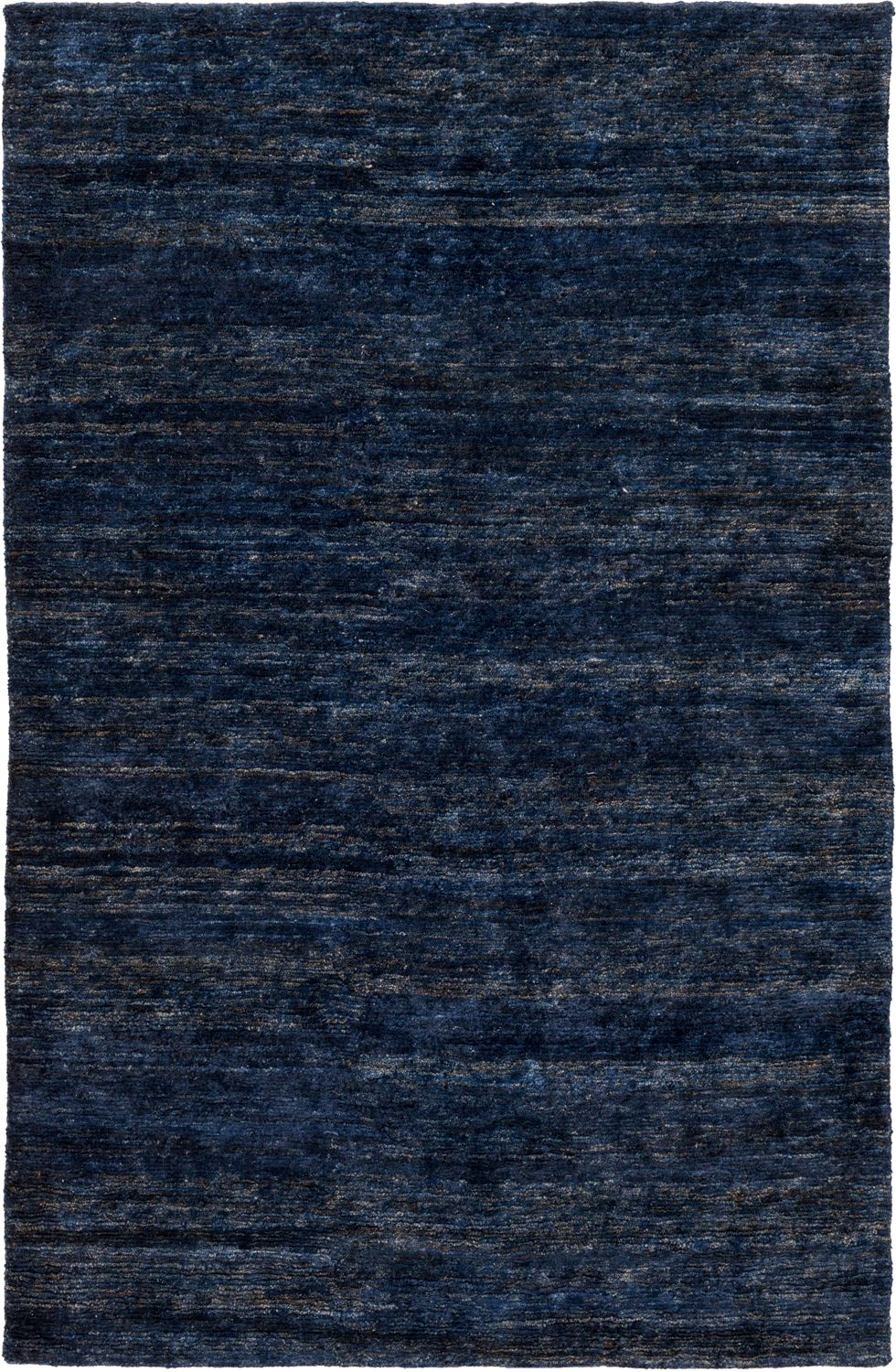 Surya Crusoe Hand Knotted Navy Solid Modern Rug Natural Fiber Area Rug Rugs Area Rugs