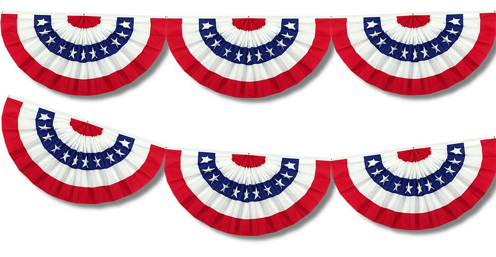American semi-circle flag banner Thanksgiving Pinterest Flag