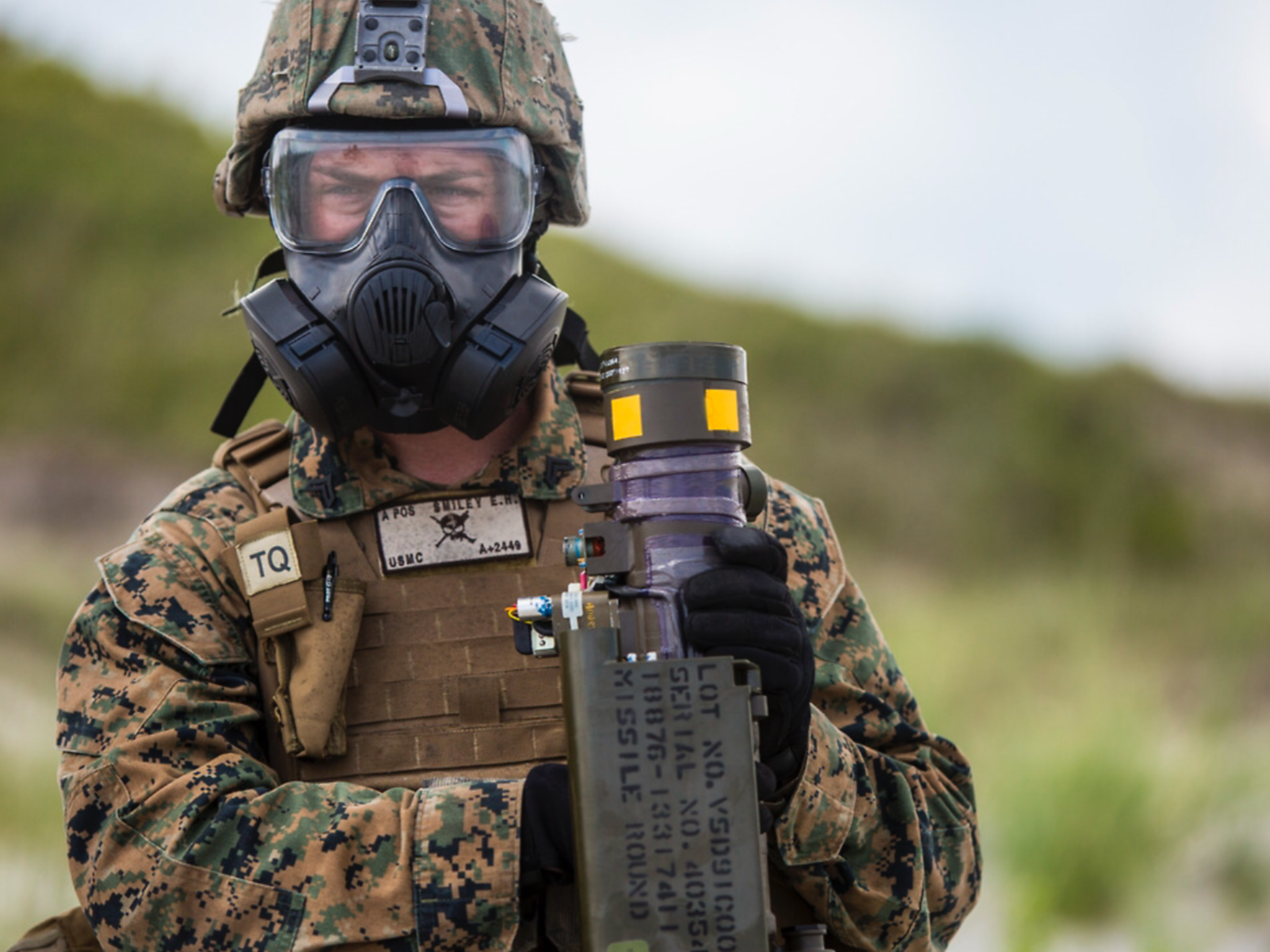 Marines With Marine Corps Special Operations Command Marsoc And 2nd Low Altitude Air Defense Battalion 2nd Laad Conductin Fire Training Marsoc Camp Lejeune