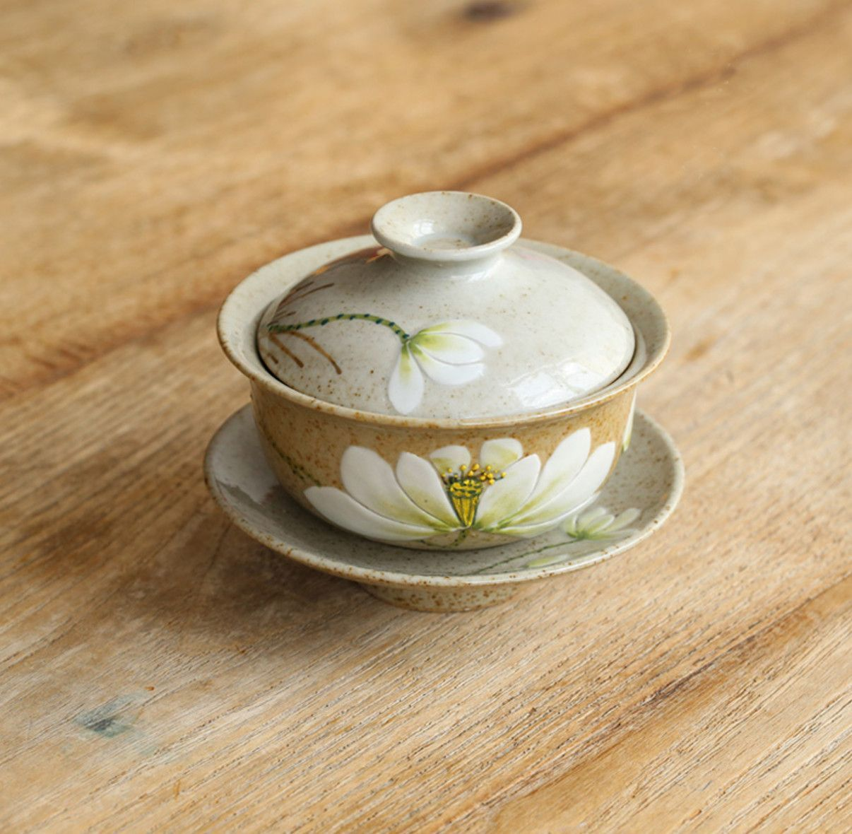 Lotus flower gaiwan crude pottery products pinterest lotus lotus flower gaiwan crude pottery izmirmasajfo