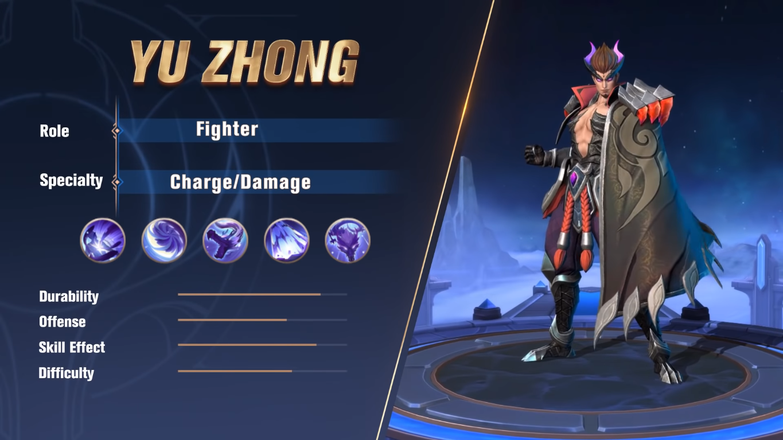 Hero Terbaru Yu Zhong Mobile Legends Tips Dan Review Apocalypse Game Youtube