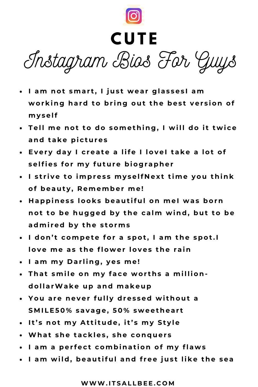 150 Quotes Captions Ideas For Instagram Bios For Guys Insta Bio Quotes Instagram Bio Quotes Facebook Bio Quotes