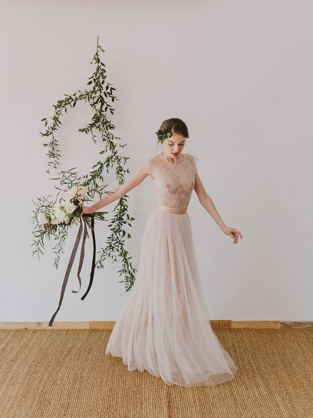 Marble copper lace tulle wedding dress copper accents best day ever marble stationery suite ombrellifo Images