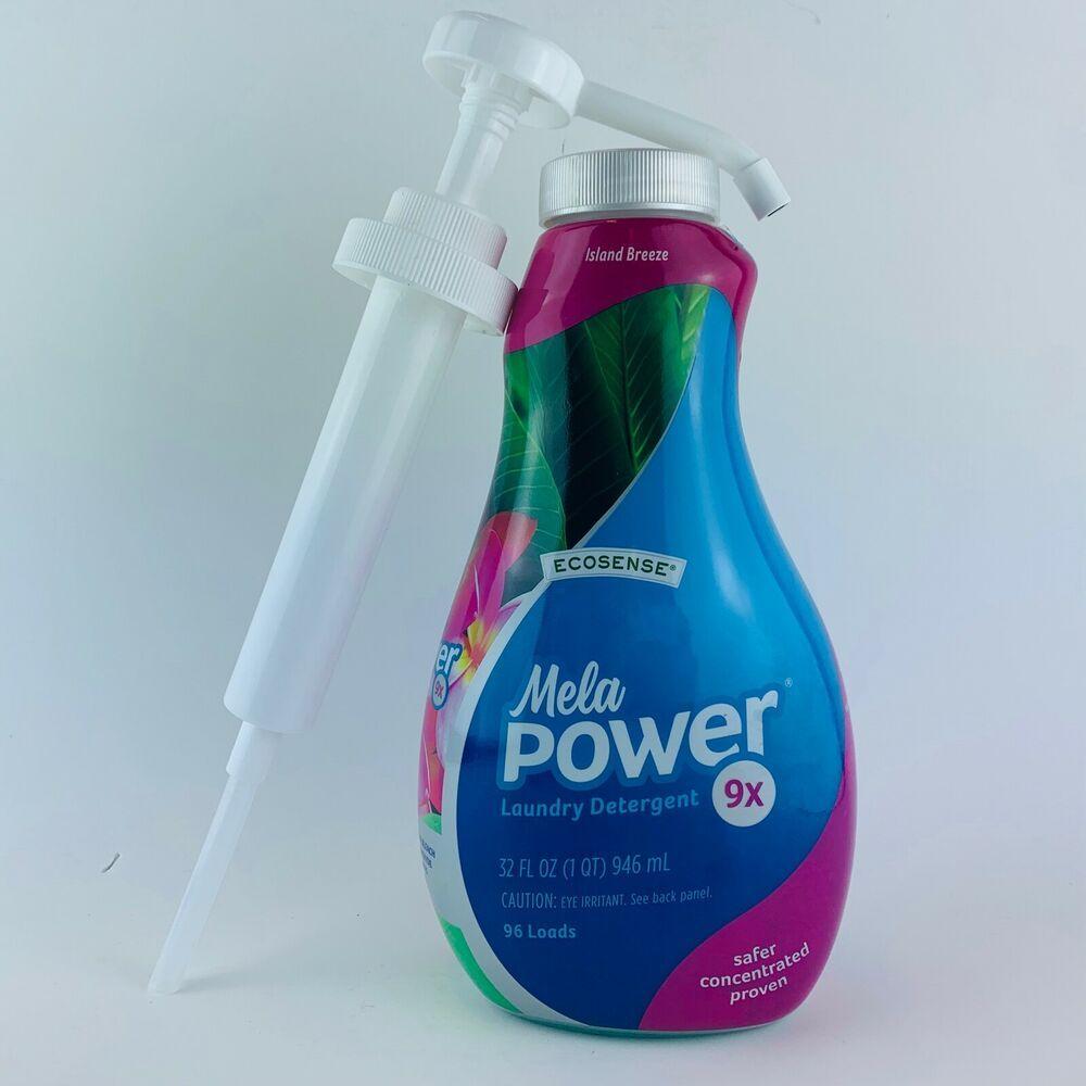 Melaleuca Melapower Ecosense 9x Island Breeze Laundry Detergent W