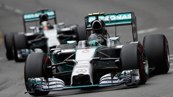 F-1: Nico Robserg the winner at Mónaco