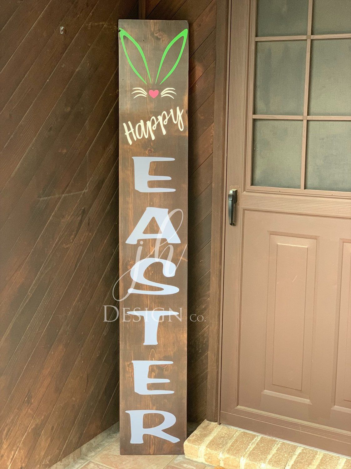 Porch Sign Easter Welcome Sign Easter Porch Sign Holiday Etsy Easter Porch Decor Easter Wood Signs Porch Signs
