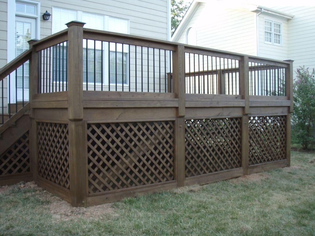 under porch lattice | barry | deck, porch, under deck storage