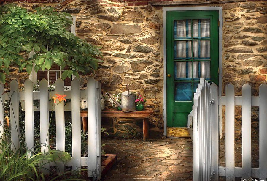 Summer Cottage Cottage Side Door By Mike Savad Cottage Front Garden Small Cottage Summer Cottage
