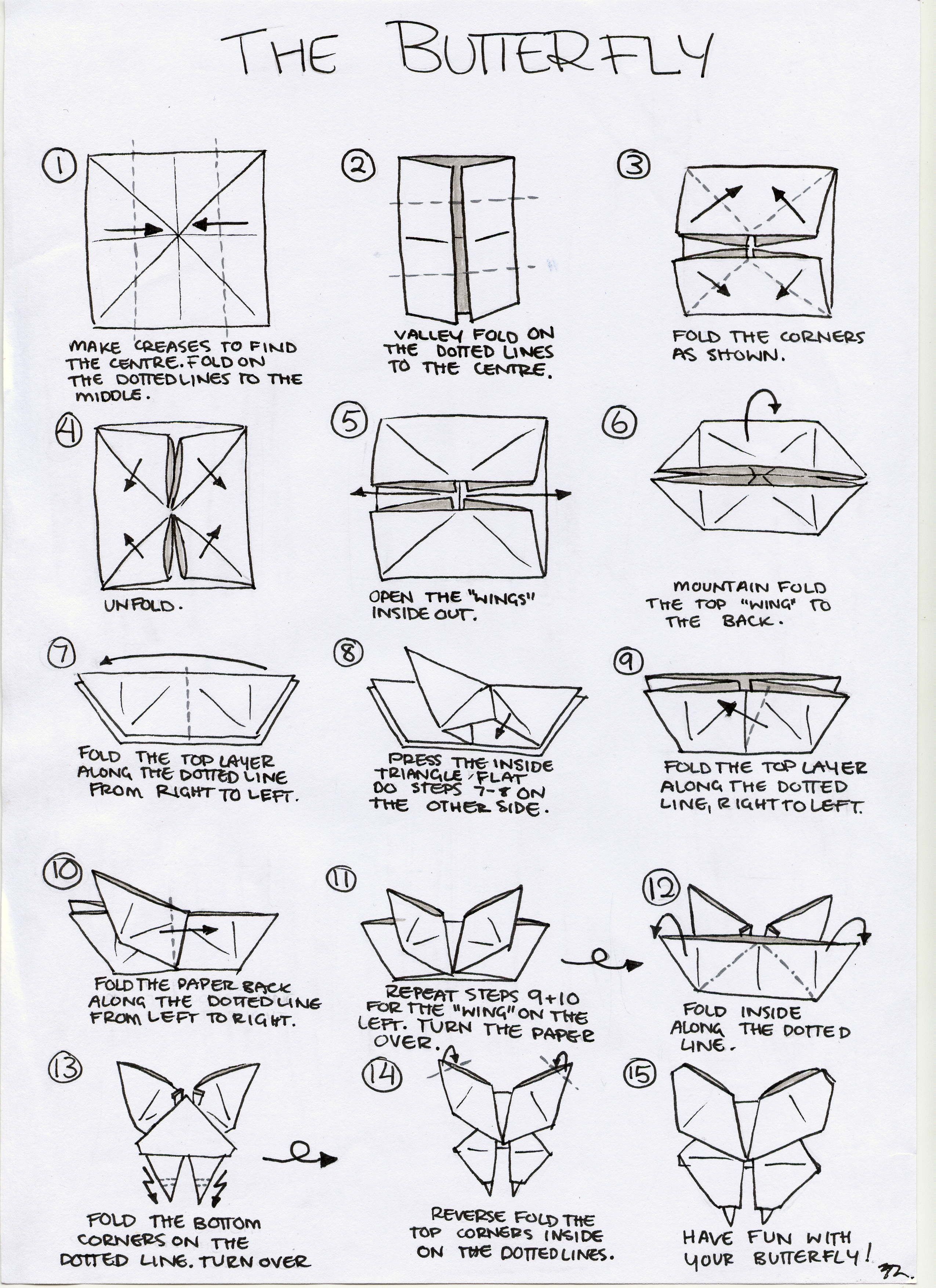 origami paper pinterest origami kirigami and crafts rh pinterest co uk origami butterfly instructions pdf origami butterfly instructions easy