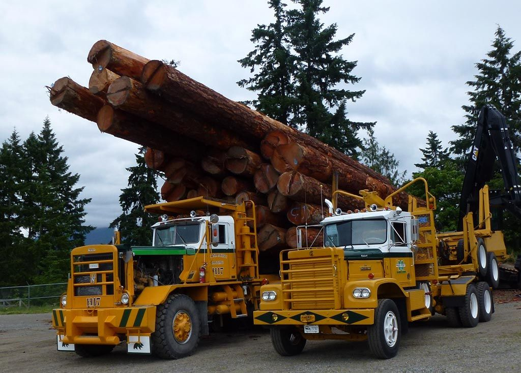 Log Loaders For Sale Vancouver Island