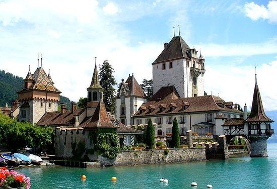 Pinterest Com Castles Of Switzerland Castles Oberhofen Castle