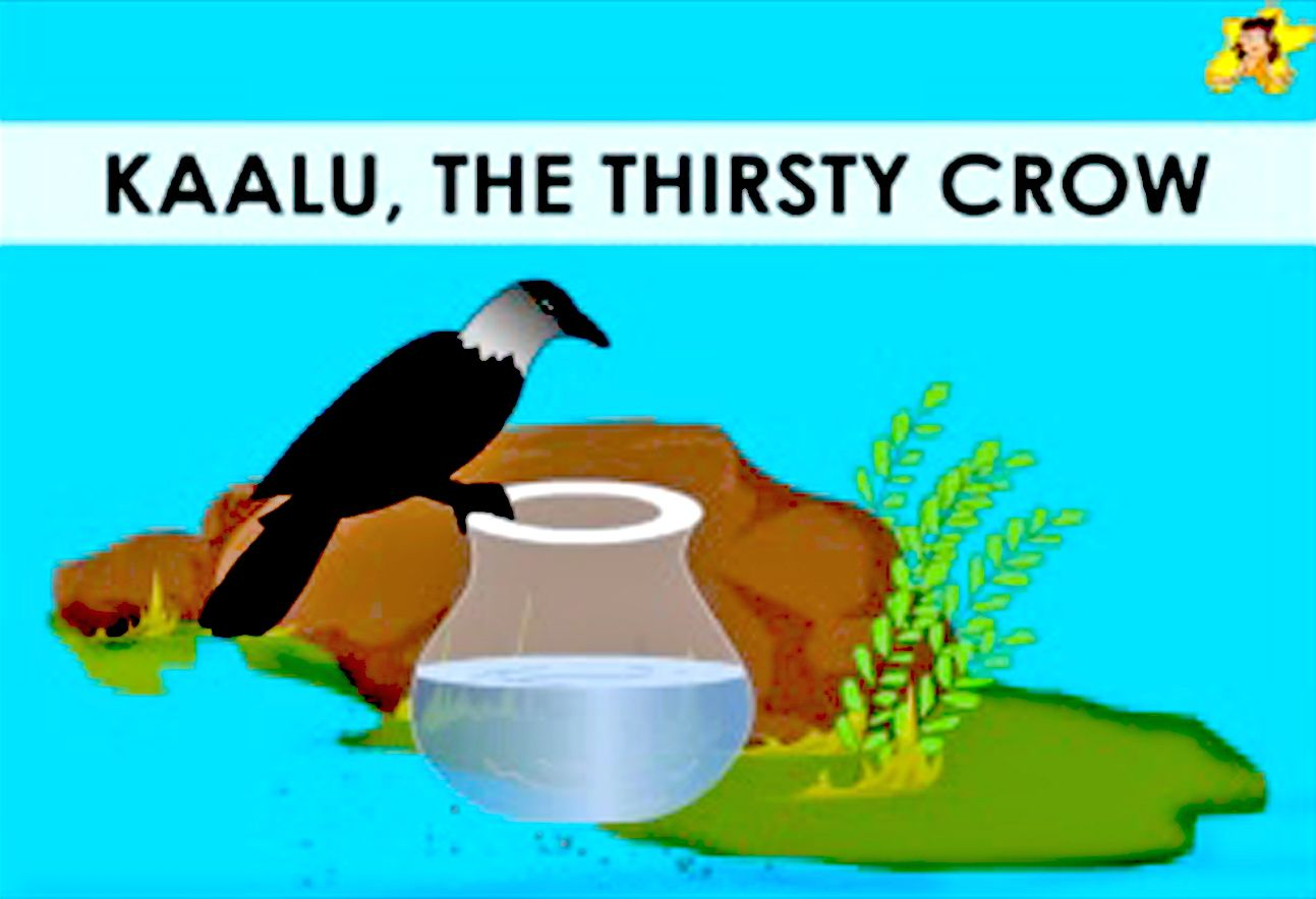 The Thirsty Crow A Moral Story In English With Pictures