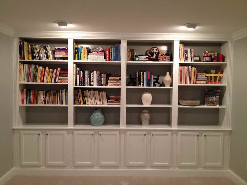 Home Design Pictures Of Built In Bookcases Lighting Ideas