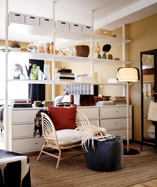 Začněte znovu v malém městském bytě Small spaces, Open