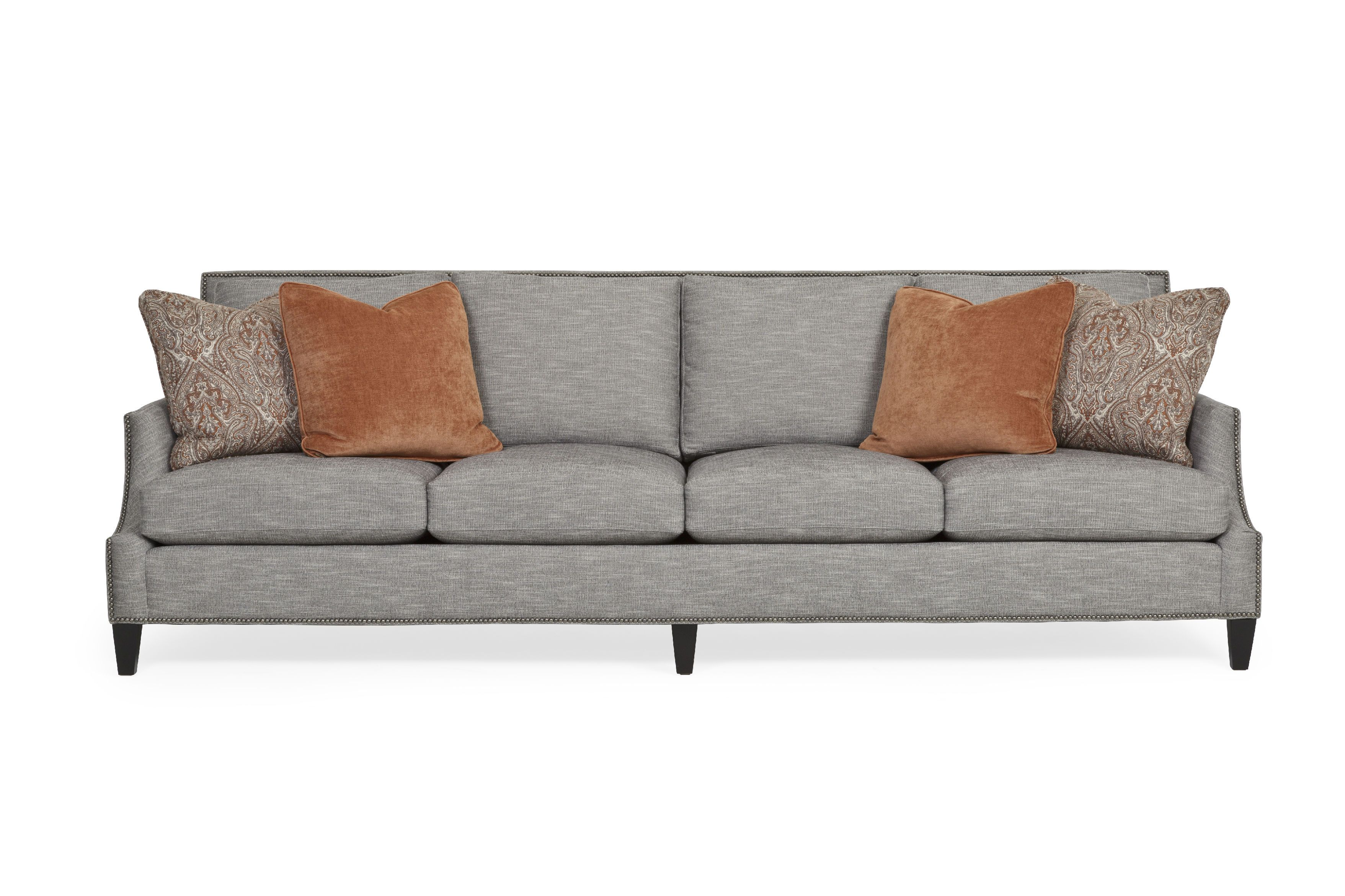 At Nine Feet Long 108 This Stunning Bernhardt Sofa Fits The Whole