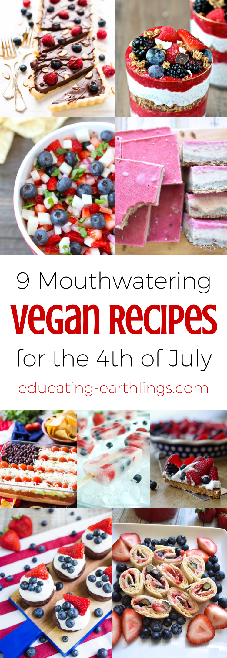 9 Mouthwatering Vegan Recipes For The 4th Of July Holiday