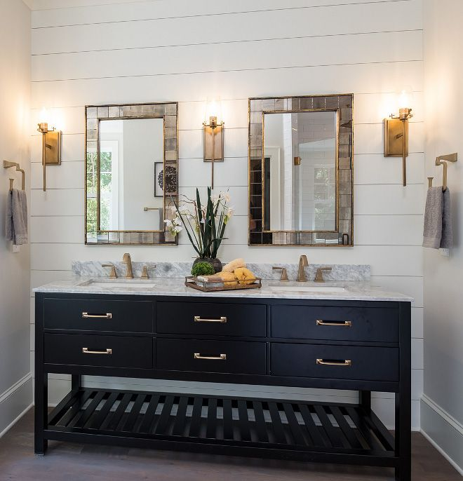 Shiplap Bathroom Vanity: Bathroom Shiplap Bathroom We Are Always Big Fans Of