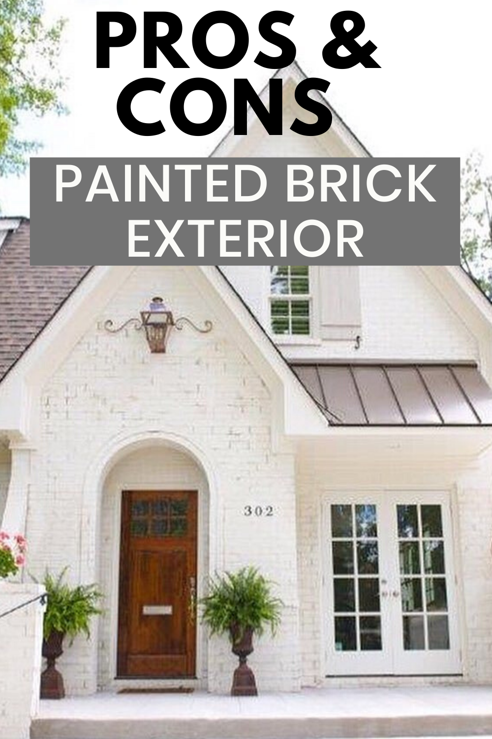Brick House Exterior Discover Painted Brick Exterior Is A Great