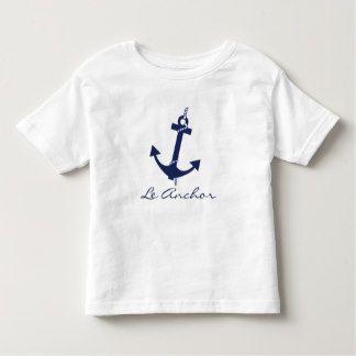 Personalized Kids Nautical Anchor T-Shirt