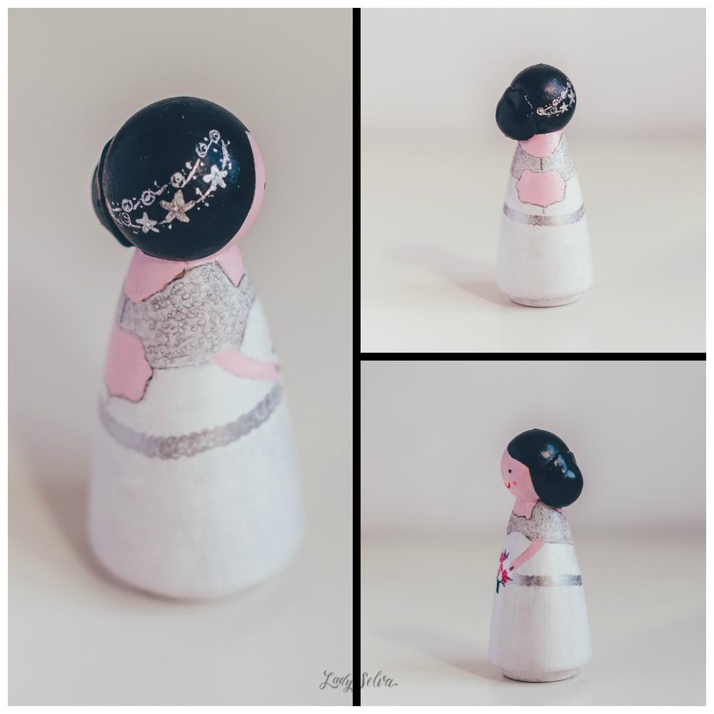 Figuras personalizadas para tarta de boda: Jéssica, Egoizt y sus dos ...