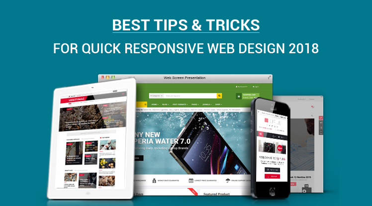 10 Best Tips And Tricks For Quick Responsive Web Design 2018 Web Design Responsive Web Design Design