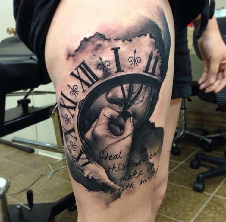 pin by cecilia tavizon on tattoos pinterest tatouage tatouage horloge and tatouage croquis. Black Bedroom Furniture Sets. Home Design Ideas
