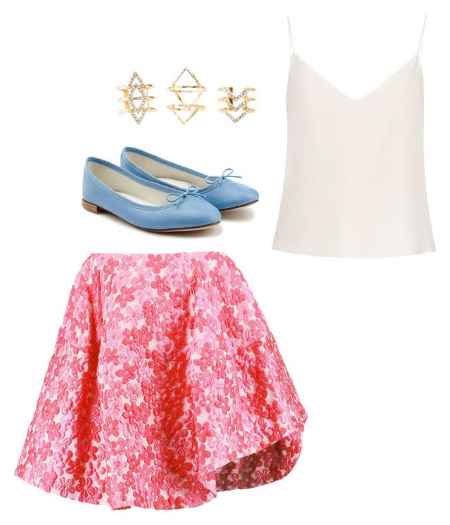 """""""Untitled #72"""" by miamp5 ❤ liked on Polyvore featuring Simone Rocha, Repetto, Raey and Charlotte Russe"""