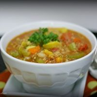 Hearty Vegetable Quinoa Chili by Picky Palate