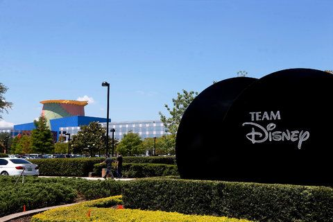 The Team Disney building in Lake Buena Vista, Fla.