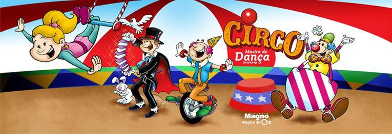 Ilustração Circo