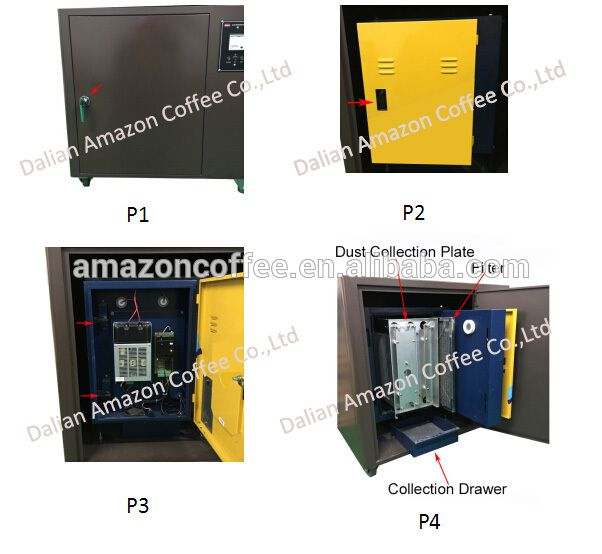 An Electrostatic Precipitator Esp Work With 1kg 2kg 3kg 6kg Coffee Roaster In Closed Environment Photo Electrostatic Air Filter Coffee Roasters Amazon Coffee