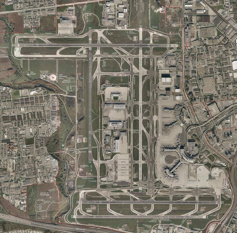 Chicago Ou0027Hare International Airport Map Airports