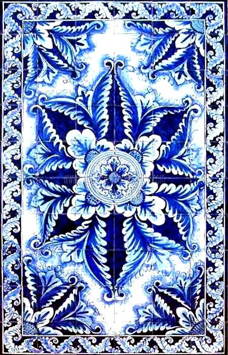 Decorative Spanish Tile Decorative Spanish Tiles Spanish Design Mosaic Panel Hand Painted