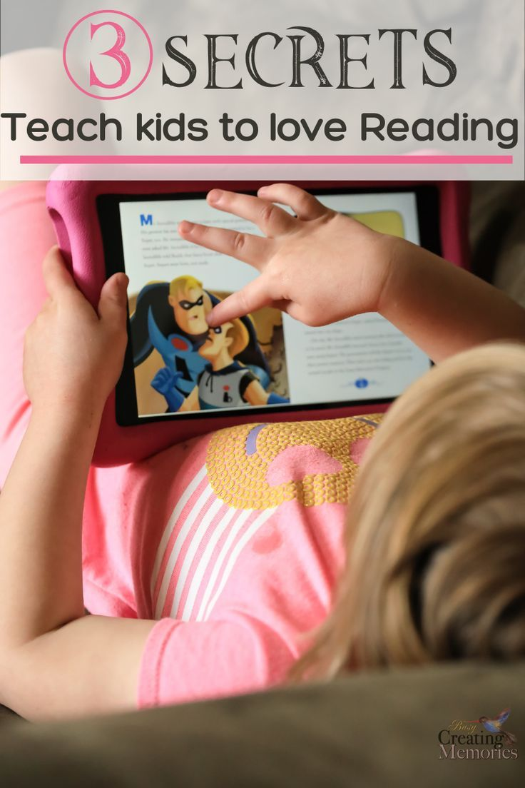 Finally, discover how to inspire a love of reading for