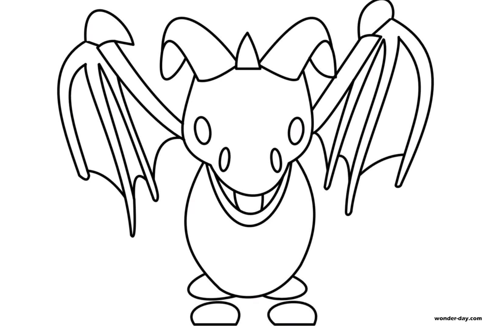 Coloring Pages Adopt Me Print For Free Wonder Day Com Pets Drawing Animal Coloring Pages Dragon Coloring Page