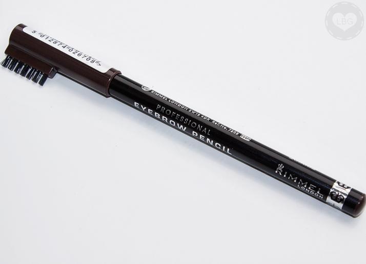 Rimmel Professional Eyebrow Pencil In Dark Brown Makeup