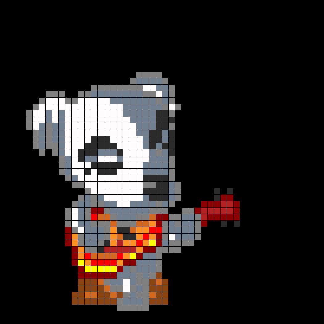 Kk Slider From Animal Crossing Perler Bead Pattern Bead