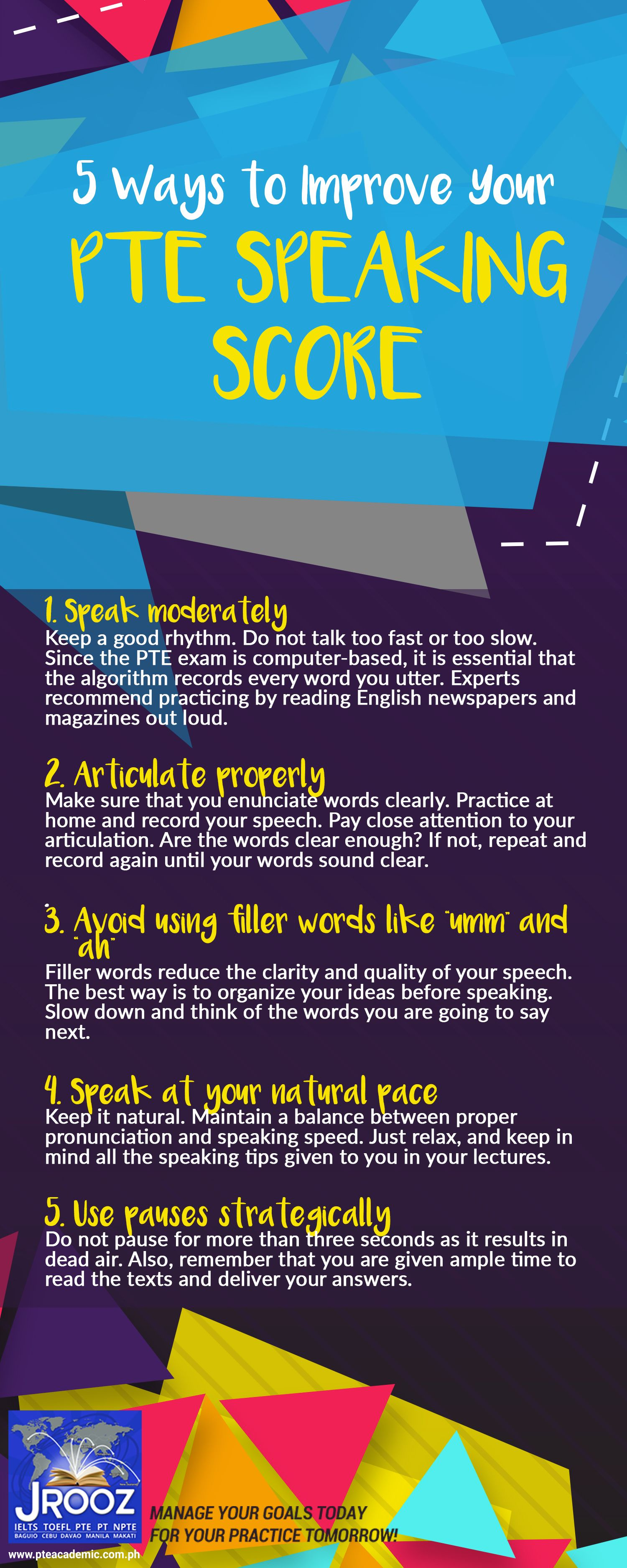 5 Ways to Improve Your PTE Speaking Score - In preparation