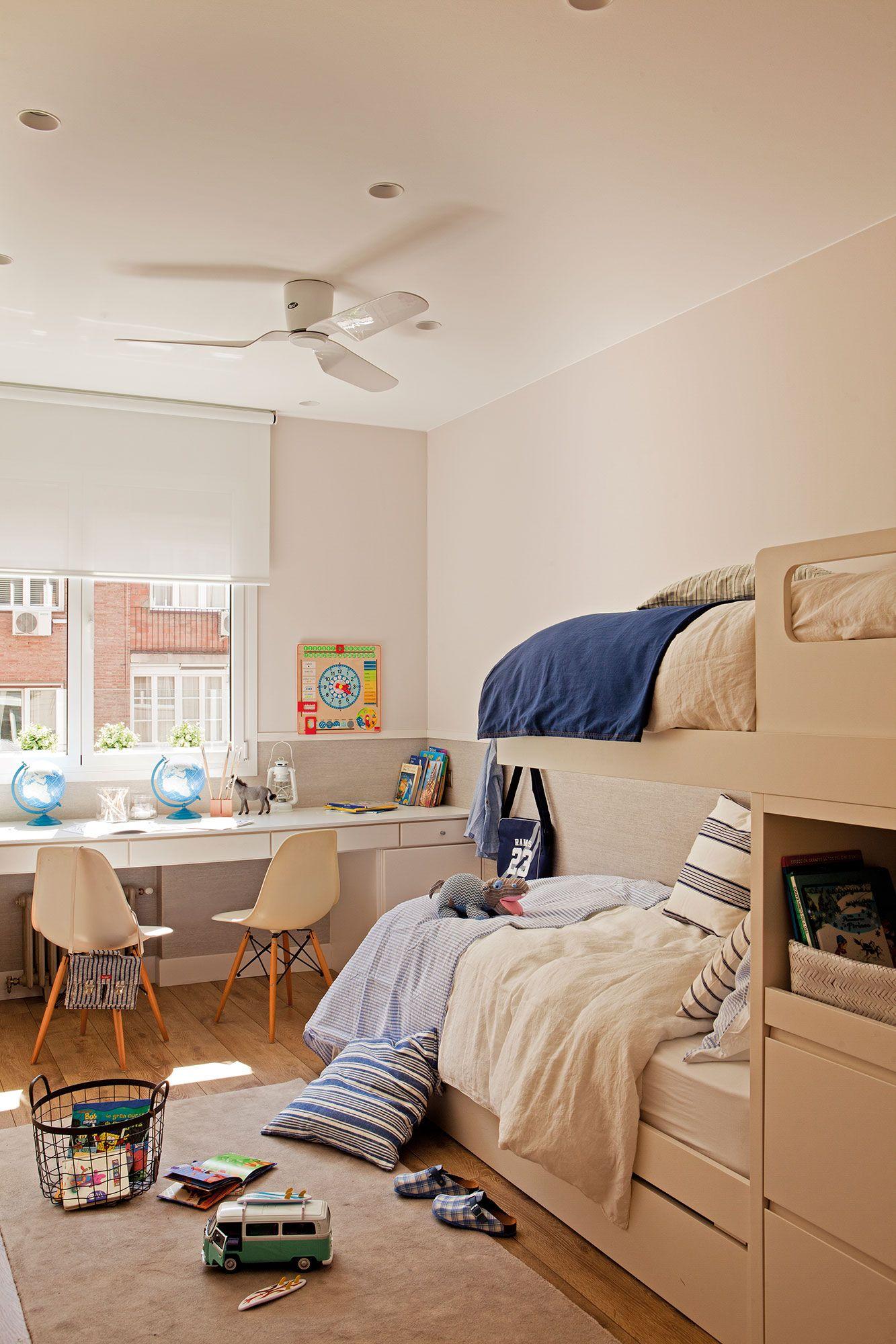 Todo en una litera dormitorios infantiles kids room for Dormitorios infantiles nino