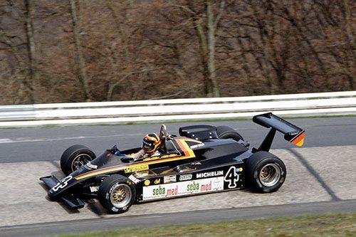 Stefan Bellof - Maurer MM83 BMW/Heidegger - Maurer Motorsport - XLVI Internationales Eifelrennen 1983 - Nürburgring