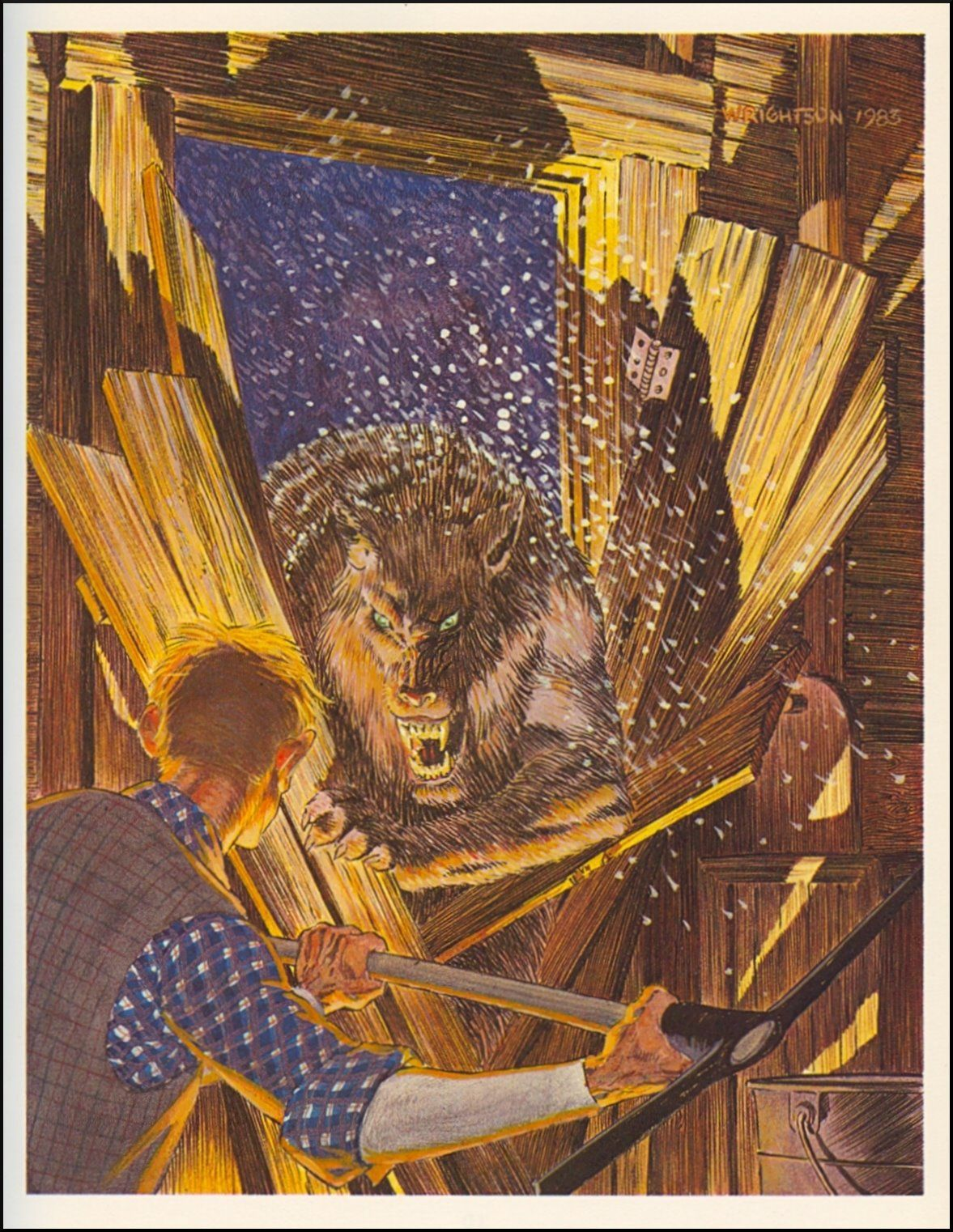 Bernie Wrightson Cycle Of The Werewolf