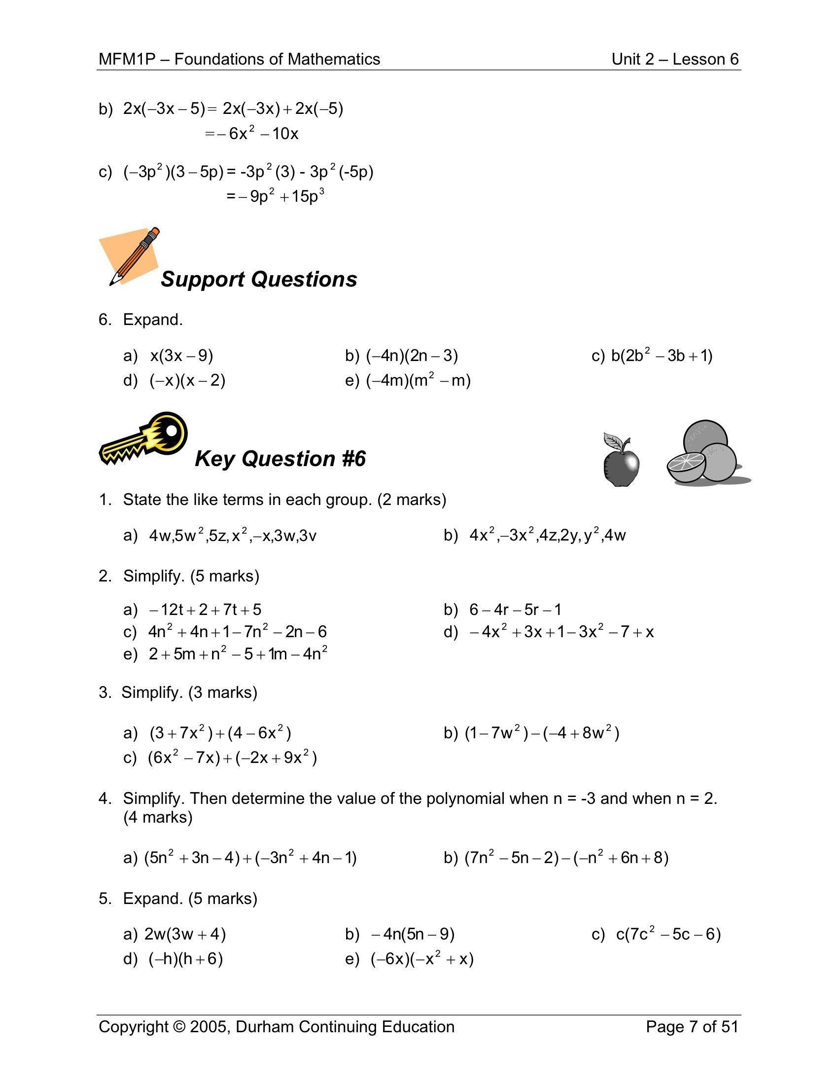 5 Worksheet Grade Math Worksheets Math Worksheet For Grade