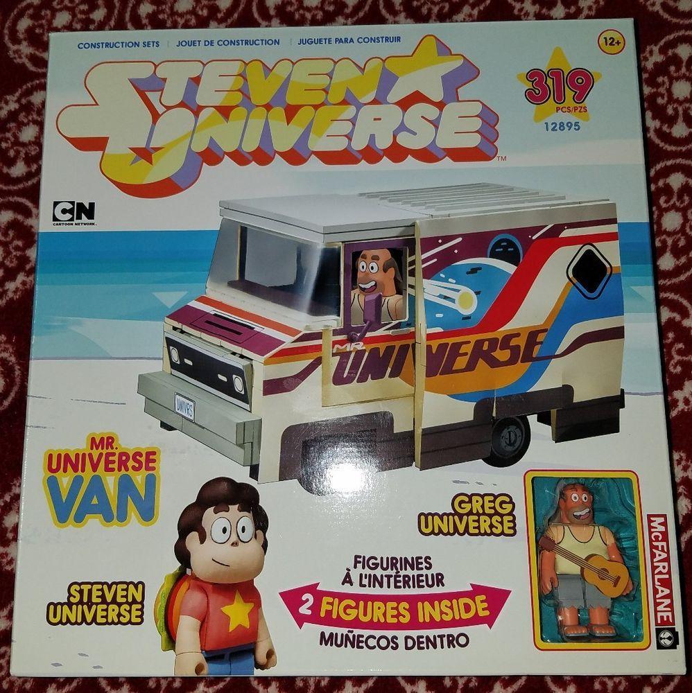 Universe Van Large Construction Set McFarlane Toys Steven Mr