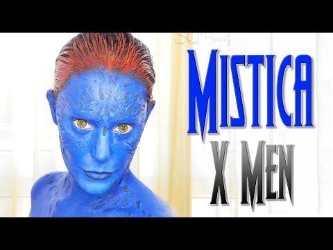 Maquillaje Mística X Men Efectos especiales, FX #50 | Silvia Quiros - YouTube
