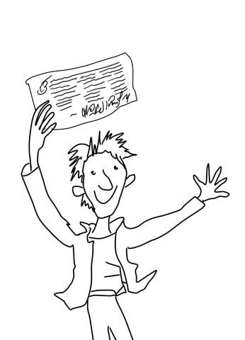 Charlie Bucket Coloring Page Coloring Pages