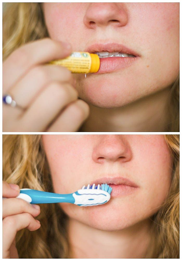 Image result for lip balm toothbrush
