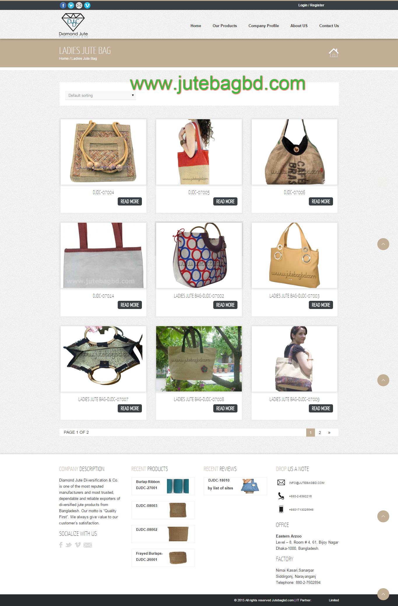 Jute Bags Online, Ladies Bags, Lunch Bags, Women Bags