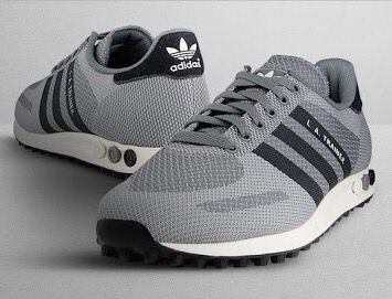 adidas Originals LA Trainer Weave: Grey