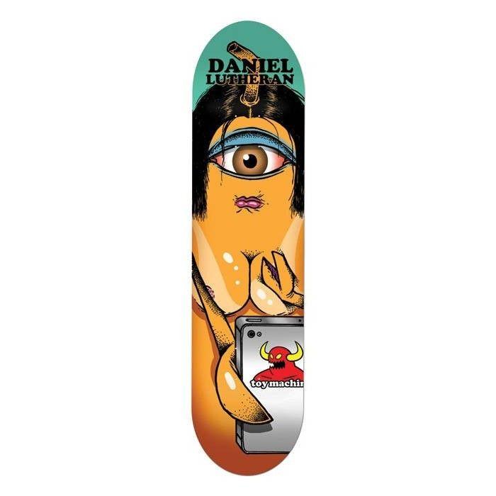 Toy Machine Lutheran Selfie 8 125 Deck Only Length 0 0cm Width 8 125 20 6cm Skateboard Decks Skateboard Deck